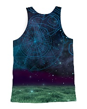 Dogo Argentino in the magic world 1806D All-over Unisex Tank back