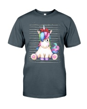 Unicorn Girl Classic T-Shirt front