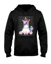 Unicorn Girl Hooded Sweatshirt thumbnail