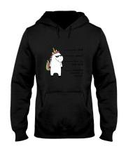 Unicorn Shhh Hooded Sweatshirt thumbnail