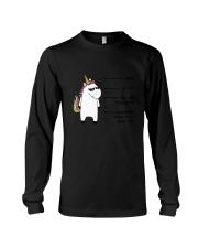 Unicorn Shhh Long Sleeve Tee thumbnail