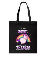 Unicorn not Short 0911 Tote Bag thumbnail