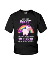 Unicorn not Short 0911 Youth T-Shirt thumbnail