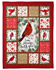 "BLANKET I'M ALWAYS WITH YOU Small Fleece Blanket - 30"" x 40"" front"
