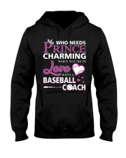 MY LOVE IS BASEBALL COACH :D :D Hooded Sweatshirt thumbnail