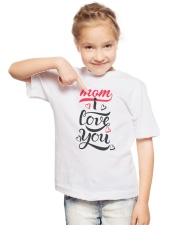 LOVE MOM LIMITED EDITION Youth T-Shirt lifestyle-youth-tshirt-front-2