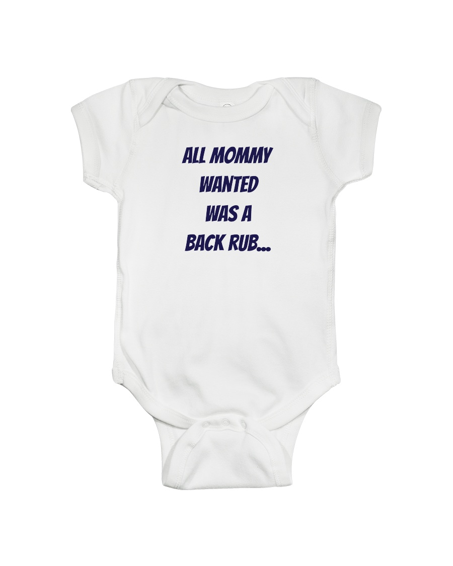 MOMMY WANT LIMITED EDITION Onesie
