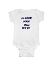 MOMMY WANT LIMITED EDITION Onesie front