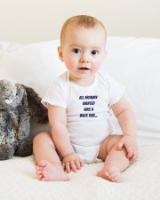 MOMMY WANT LIMITED EDITION Onesie lifestyle-onesie-front-1