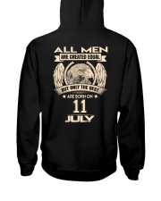 11 JULY Hooded Sweatshirt back