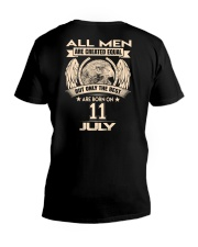 11 JULY V-Neck T-Shirt thumbnail