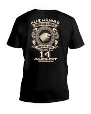 14 AUGUST V-Neck T-Shirt thumbnail