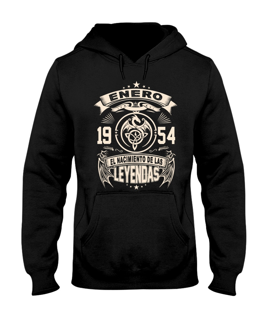 Enero 1954 Hooded Sweatshirt