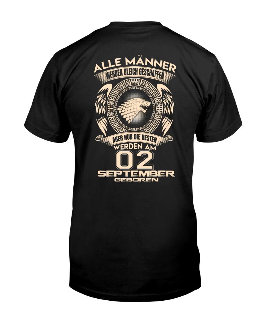 02 SEPTEMBER Classic T-Shirt