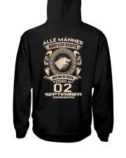 02 SEPTEMBER Hooded Sweatshirt thumbnail