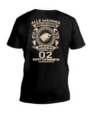 02 SEPTEMBER V-Neck T-Shirt thumbnail