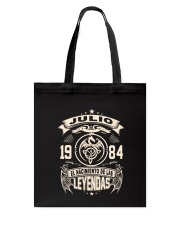 Julio 1984 Tote Bag thumbnail