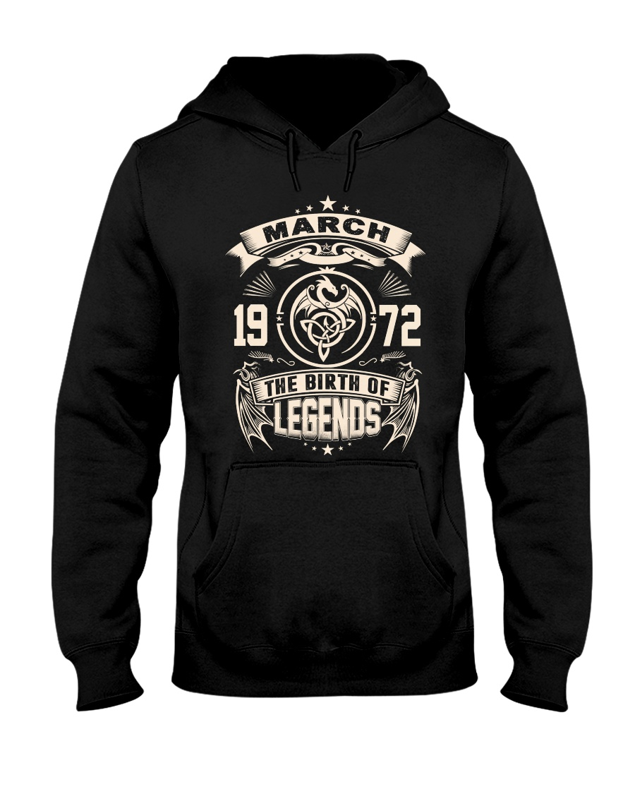 March 1972 Hooded Sweatshirt