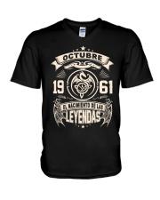 Octubre 1961 V-Neck T-Shirt thumbnail