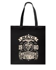 Mayo 1980 Tote Bag thumbnail