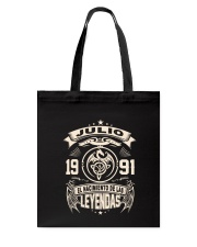 Julio 1991 Tote Bag thumbnail