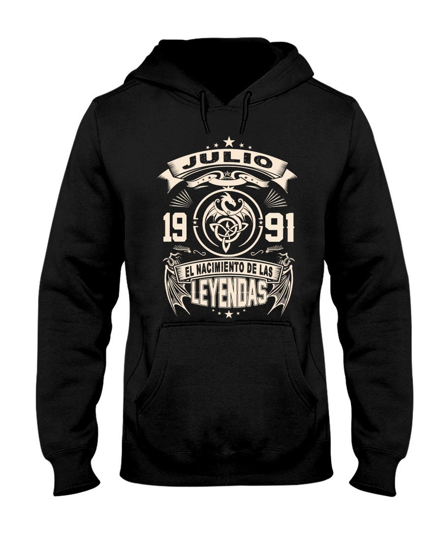 Julio 1991 Hooded Sweatshirt