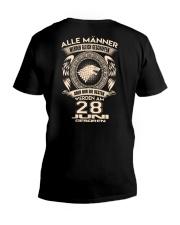 28 JUNI V-Neck T-Shirt thumbnail