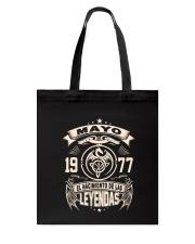 Mayo 1977 Tote Bag thumbnail