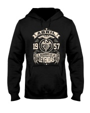 Abril 1957 Hooded Sweatshirt front