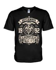 Septiembre 1992 V-Neck T-Shirt thumbnail