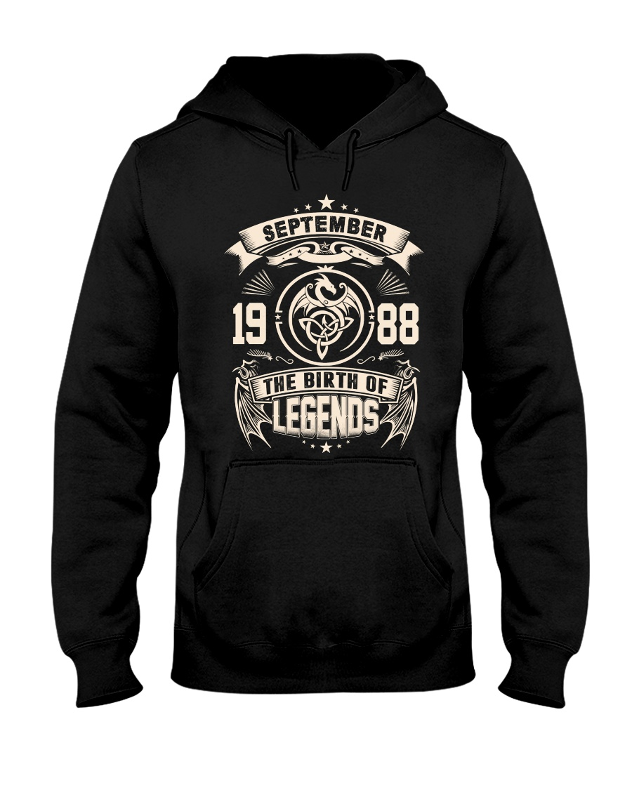 September 1988 Hooded Sweatshirt