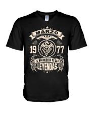 Marzo 1977 V-Neck T-Shirt thumbnail