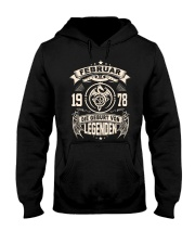 Februar 1978 Hooded Sweatshirt front