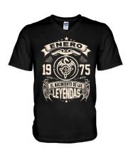 Enero 1975 V-Neck T-Shirt thumbnail