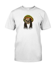 Rasta Pug Classic T-Shirt thumbnail