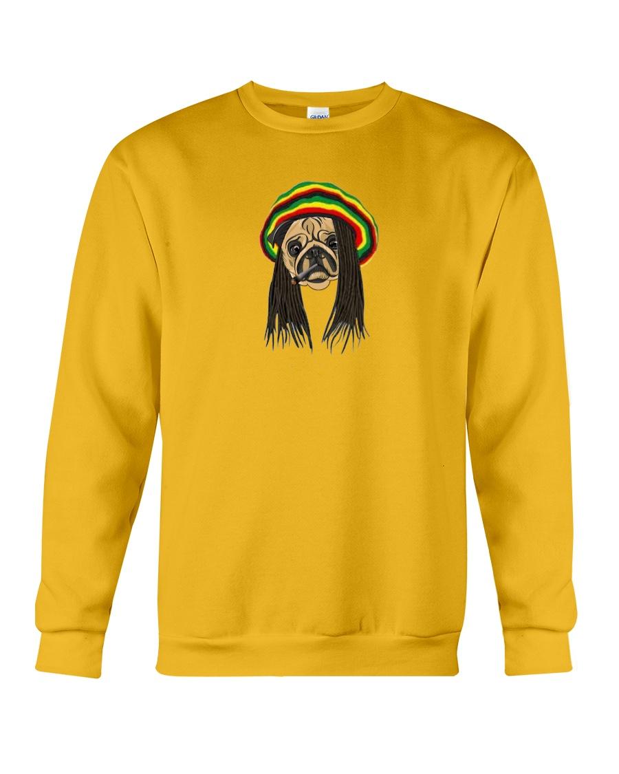 Rasta Pug Crewneck Sweatshirt