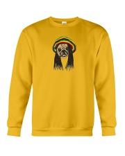 Rasta Pug Crewneck Sweatshirt front