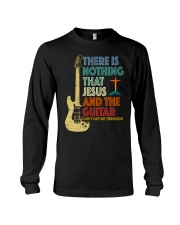 Jesus and Guitar Long Sleeve Tee thumbnail