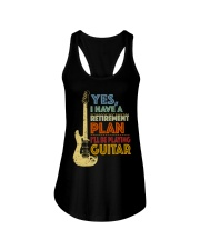 Retirement Plan Playing Guitar Ladies Flowy Tank thumbnail