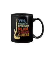Retirement Plan Playing Guitar Mug thumbnail