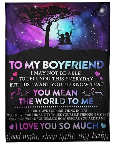To My Boyfriend - I love you so much
