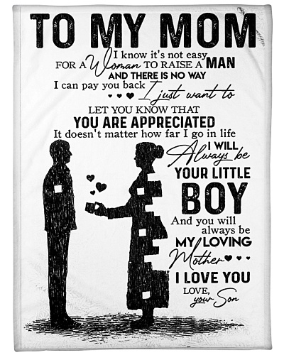 To My Mom - You Are Appreciated - Fleece Blanket