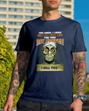 Achmed: You laugh I laugh you cry i cry Classic T-Shirt lifestyle-mens-crewneck-front-8