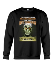 Achmed: You laugh I laugh you cry i cry Crewneck Sweatshirt thumbnail