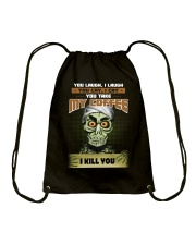 Achmed: You laugh I laugh you cry i cry Drawstring Bag thumbnail