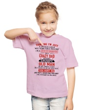 Dad - Daughter Youth T-Shirt lifestyle-youth-tshirt-front-2