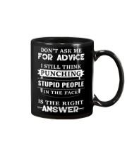 Don't ask me for advice Mug thumbnail