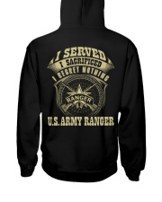 US Army Ranger Hooded Sweatshirt thumbnail