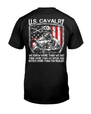 US Cavalry Classic T-Shirt back