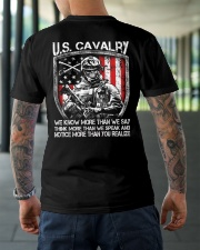 US Cavalry Classic T-Shirt lifestyle-mens-crewneck-back-3